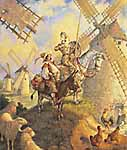"Scott Gustafson Limited Edition Print:""Don Quixote"""