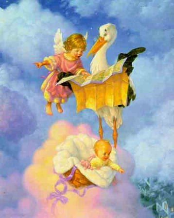"""Scott Gustafson Limited Edition Print:""""The Special Delivery"""""""
