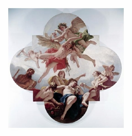 """Sebastiano Ricci Fine Art Open Edition Giclée:""""Taming of Cupid (Love Punished)"""""""