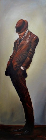 """Frank Morrison Hand Signed and Numbered Limited Edition Giclee on Paper:""""Swagger"""""""