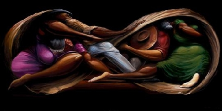 """Frank Morrison Hand Signed and Numbered Limited Edition Giclee on Paper:""""Indentured Servants"""""""