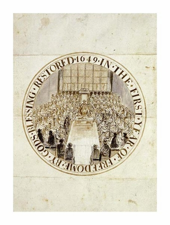 "Simon Thomas Fine Art Open Edition Giclée:""A Design for the Great Seal of England"""