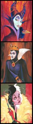 """Stephen Fishwick Signed and Numbered Hand Embellished Giclée on Canvas:""""Queens of Madness"""""""