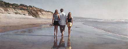 "Steve Hanks Handsigned and Numbered  Limited Edition AP :""Father's Day"""