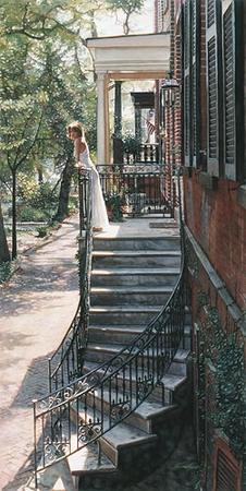 """Steve Hanks Handsigned and Numbered Limited Edition Print:""""A New Beginning"""""""
