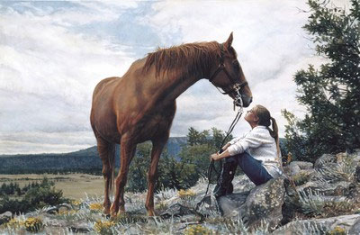 "Steve Hanks Handsigned and Numbered Limited Edition Print:""From a Higher Level """