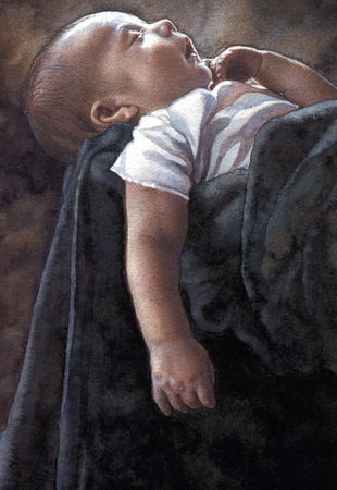 """Steve Hanks Handsigned and Numbered Limited Edition Print:""""Life Size"""""""
