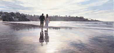 """Steve Hanks Handsigned & Numbered Limited Edition Print:""""Hold On to Your Dreams """""""