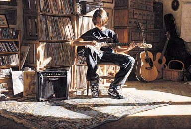 """Steve Hanks Handsigned & Numbered Limited Edition Print:""""It's His Time Now """" w/ Free Companion Print"""
