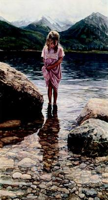 """Steve Hanks Handsigned & Numbered Limited Edition Print:""""Nature's Beauty"""""""