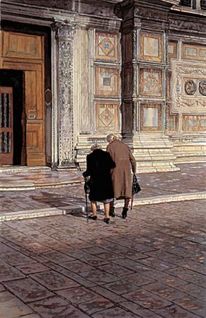 """Steve Hanks Handsigned & Numbered Limited Edition Print:""""Taking Their Time"""""""