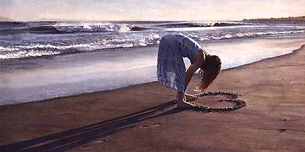 """Steve Hanks Handsigned & Numbered Limited Edition Print:""""The Daughter of a Great Romance"""""""