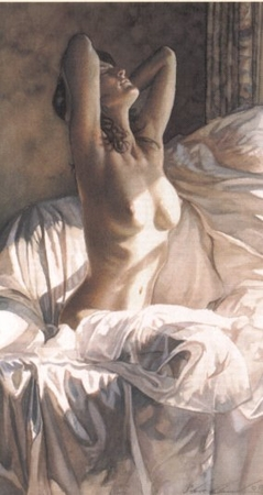 "Steve Hanks Handsigned & Numbered Limited Edition Print:""Tommorow is Just a Dream"""