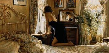 """Steve Hanks Limited Edition Artist Proof Print: """"A Moment For Reflection"""""""