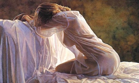 """Steve Hanks Limited Edition Giclee on Paper: """"Forever a Mystery"""""""
