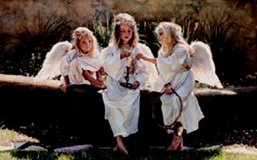 """Steve Hanks Limited Edition Print: """"Candle in the Wind"""""""
