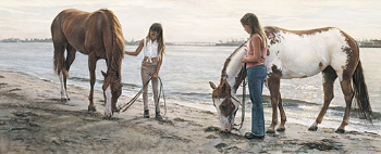 """Steve Hanks Limited Edition Print: """"Connections"""""""