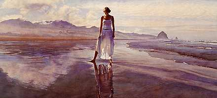"""Steve Hanks Limited Edition Print:""""Finding Yourself in The World"""""""