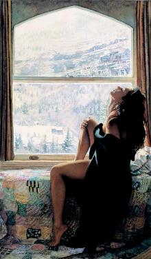 """Steve Hanks Limited Edition Print: """"On the Warm Side of Winter"""""""