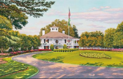 """Steve Lotus Official Masters Tournament Limited Edition:"""" Founders Circle at Augusta National Golf Club"""""""