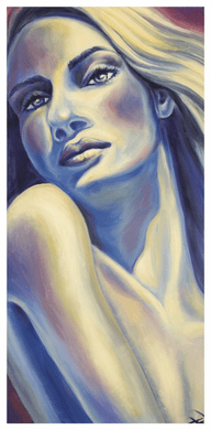 """Tanya Jean Peterson Handsigned and Numberd Giclee on Canvas:""""Intrigue"""""""