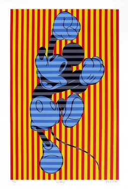 """Tennessee Loveless Hand Signed and Numbered Limited Edition Serigraph on Paper: """"HOORAY"""""""
