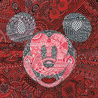 """Tennessee Loveless Signed and Numbered Limited Edition Giclée on Canvas:""""MeHandy Mickey"""""""