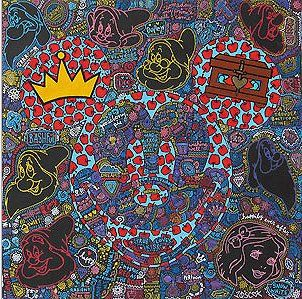 """Tennessee Loveless Signed and Numbered Limited Edition Giclée on Canvas:""""Mickey Mouse - Happily Ever Neon"""""""