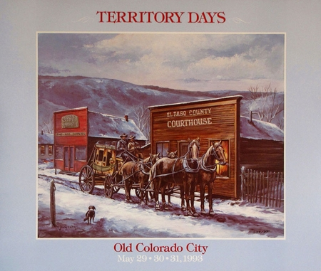 """Territory Days Poster: """"1993"""""""