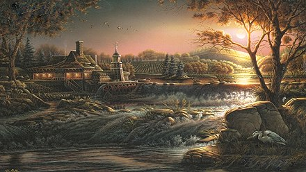 """Terry Redlin 25th Anniversary Limited Edition Print:""""Guardian of Conservation"""""""