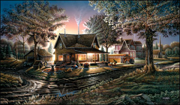 """Terry Redlin American Portrait Limited Edition: Heartfelt Firsts - """"His First Day"""""""