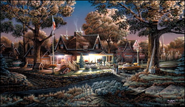 """Terry Redlin American Portrait Limited Edition: Heartfelt Firsts - """"His First Goodbye"""""""