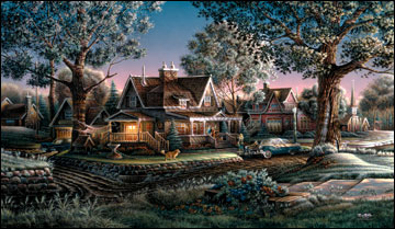 "Terry Redlin American Portrait Limited Edition: Heartfelt Firsts - ""His First Graduation"""