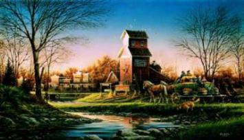 """Terry Redlin Limited Edition Print: """"Above The Fruited Plain"""" (Free Shipping)"""