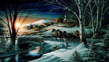 "Terry Redlin Limited Edition Print: ""Almost Home"""
