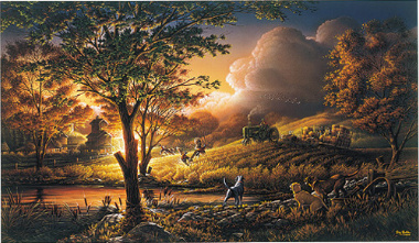 "Terry Redlin Limited Edition Print:""Always Alert"""