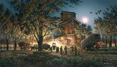 """Terry Redlin Limited Edition Print:""""Bountiful Harvest"""""""