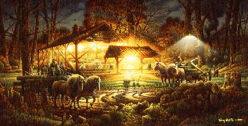 """Terry Redlin Limited Edition Print:""""Building The Community"""""""