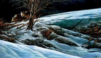 """Terry Redlin Limited Edition Print: """"Catching the Scent"""""""