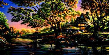 """Terry Redlin Limited Edition Print:""""Close to Paradise"""""""