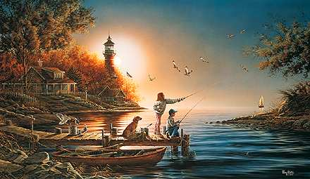 """Terry Redlin Limited Edition Print: """"From Sea to Shining Sea"""""""