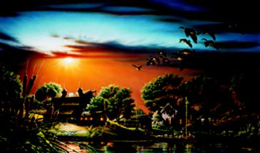 """Terry Redlin Limited Edition Print:""""Lazy Afternoon"""""""