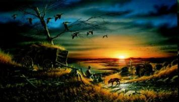 """Terry Redlin Limited Edition Print: """"Lifetime Companions"""""""