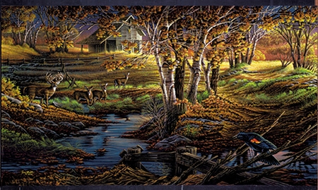 "Terry Redlin Limited Edition Print:""Nature's Sentinel"""
