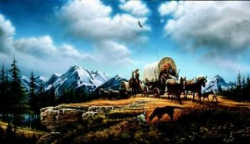 """Terry Redlin Limited Edition Print: """"O Beautiful for Spacious Skies"""""""