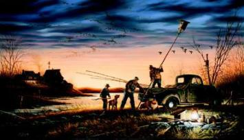 """Terry Redlin Limited Edition Print: """"The Conservationist"""""""