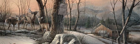 """Terry Redlin Open  Edition Horizions Collection Print:""""Back to Sanctuary """""""