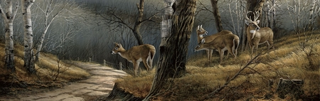 """Terry Redlin Open  Edition Horizions Collection Print:""""Leaving the Sanctuary """""""