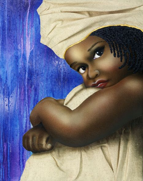 """Terry Wilson Hand Signed and Numbered Limited Edition Canvas Giclee: """"Miss Precious"""""""