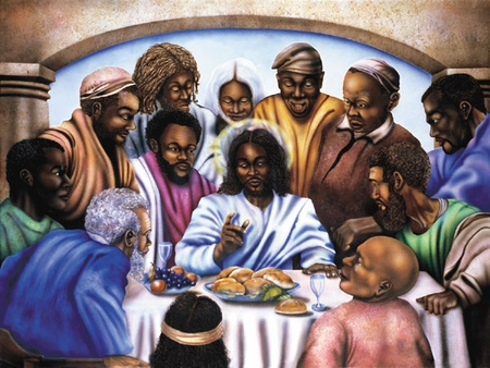 """Terry Wilson Hand Signed and Numbered Limited Edition Giclee: """"Last Supper"""""""